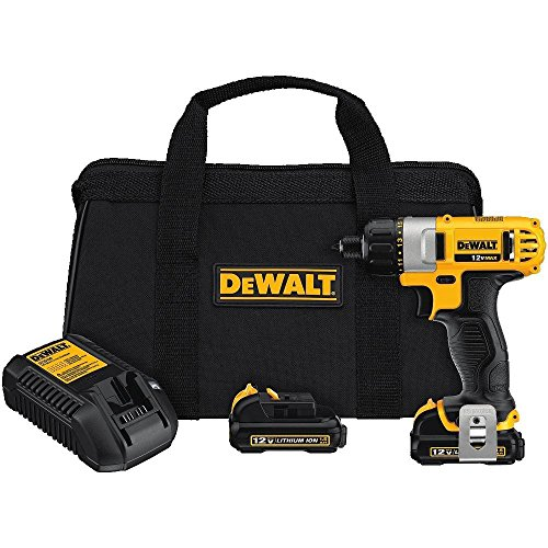 DEWALT DCF610S2R 12V MAX Cordless Lithium-Ion 1/4 in. Hex Chuck Screwdriver Kit (Certified Refurbished)