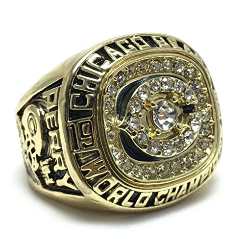 Chicago Bears Super Bowl XX 1985 Ring sz 11 William Perry (11)