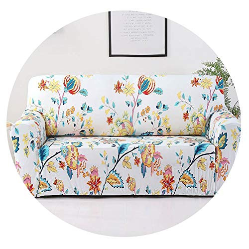 Plaid Sofa Cover Elastic Sofa Covers for Living Room Stretch Sofa seat Cover Slipcovers for Armchairs Sofa Set Couch Cover 1PC,Color 4,1-Seater(90-140cm) (Bath Beyond And Kelowna Bed)