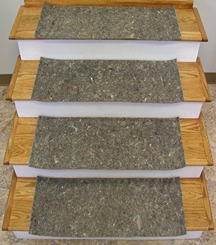 (Rug Depot Stair Runner Padding - 13 Pad Treads - 28