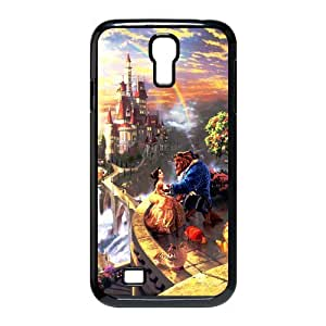 customized Beauty and the Beast for SamSung Galaxy S4 I9500 case S4-brandy-140061