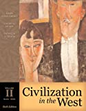 Civilization in the West 9780321236258