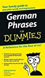 German Phrases for Dummies, Anne Fox and Paulina Christensen, 0764595539