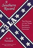 A Southern Record, W. H. Tunnard, 1557284938