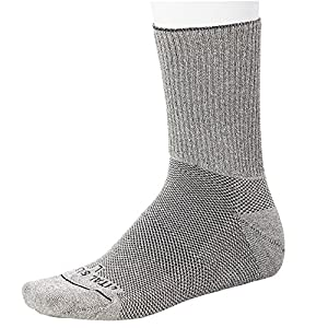 Vital Silver-Germanium+Bamboo Charcoal Seamless Circulation Diabetic Socks-Long