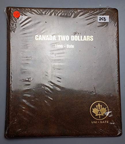 Uni-Safe Coin Album Canada Two Dollars 1996 Date TOONIES, Sealed