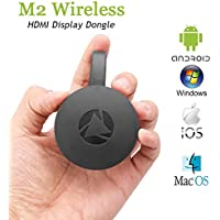 WiFi Display Dongle, AOZBZ 1080P WiFi Wireless Mini Display Receiver Mirror Dongle HDMI Adapter TV Miracast DLNA Airplay for iOS iPhone iPad Android Device Smartphone Pad Macbook