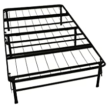 Epic Furnishings DuraBed Steel Foundation and Frame-in-One Mattress Support System Foldable Bed Frame, Twin