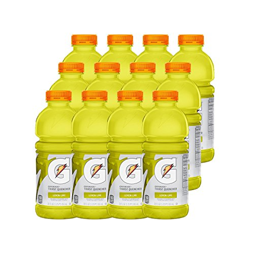Gatorade Thirst Quencher Lemon-Lime, 20 Ounce Bottles (Pack of 12) Only $5.62