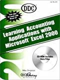Learning Accounting Applications with Microsoft Excel 2000, DDC Publishing Staff, 1562437240