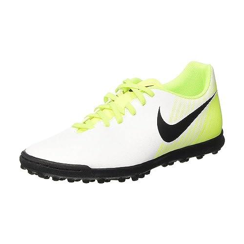 Nike - Zapatillas de fútbol Sala de Material Sintético para niño Blanco Bianco: Amazon.es: Zapatos y complementos