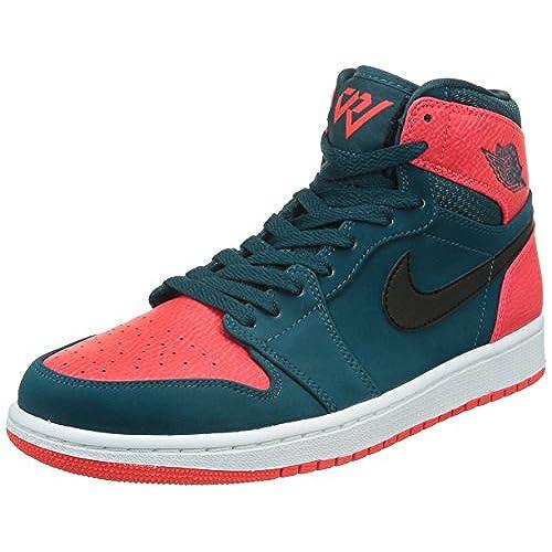 uk availability 6c5e0 0d5b1 ... low og prem c02e8 4f5d2  new style nike 332550 312 air jordan aj 1 retro  high mens sneakers air jordanteal black