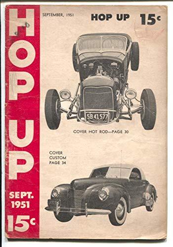 - Hop Up #2 9/1951-Russette-Darlington 250 Indy cars-SCTA-Jalopy Enduro-VG