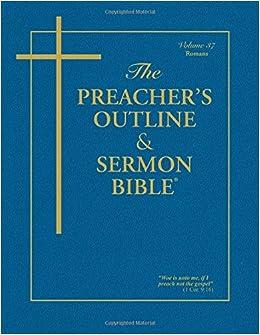 The Preacher's Outline & Sermon Bible®: Romans (Preacher's Outline & Sermon Bible-KJV)