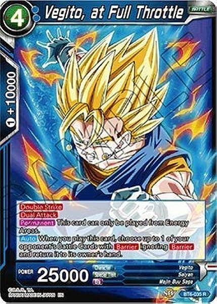 World/'s Strongest Candy Dragon Ball Super Card Rare BT6-037 Vegito