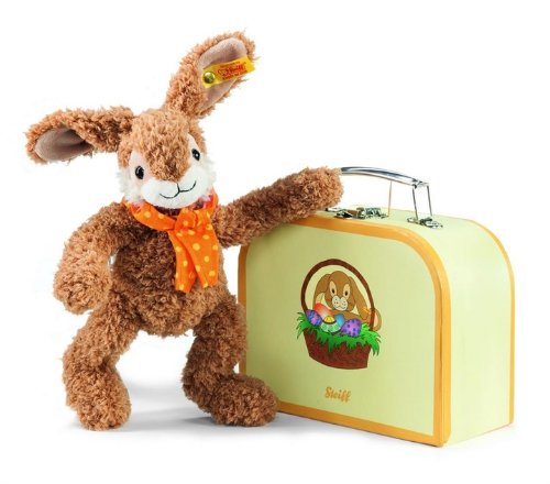 Steiff Jolly Dangling Rabbit in Suitcase from Steiff