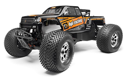 HPI Racing GTXL-1 Painted Body (Black) Savage XL 112828