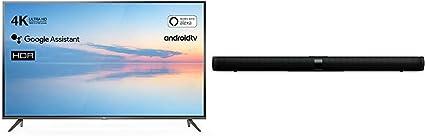 TCL 55EP640 Televisor 139 cm (55 Pulgadas) Smart TV + Barra de Sonido TCL TS7000 (92 cm) para TV: Amazon.es: Electrónica