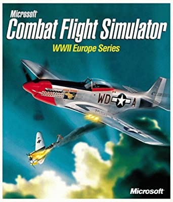 Amazon Com Microsoft Combat Flight Simulator Wwii Europe Series Pc Video Games
