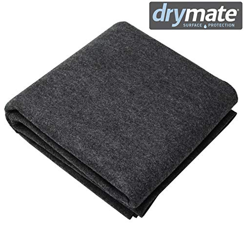 "Drymate Whelping Box Liner Mat, 48"" x 50"" - Machine Washable, Reusable & Absorbent Dog Whelping Pad - Can be Cut to Fit, USA Made from Drymate"
