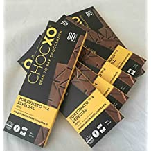 Bulk Buy: 6 Bars ChocXO Gluten-Free Single Origin 80% Chocolate FORTUNATO NO.4 ESPECIAL Peru