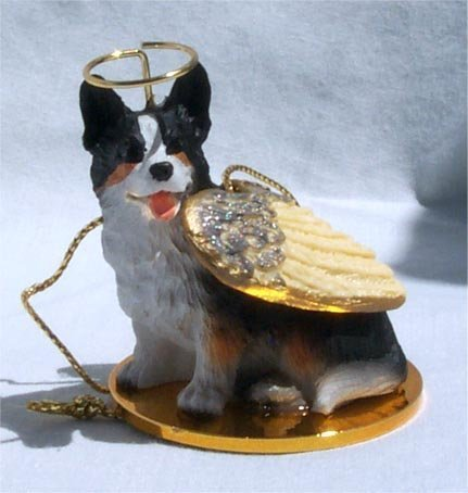Cardigan Angels - Welsh Corgi Cardigan Angel Dog Ornament by Conversation Concepts