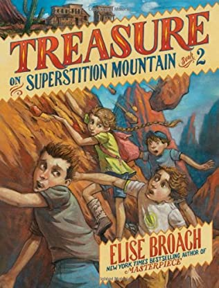 book cover of Treasure on Superstition Mountain