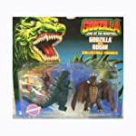 Godzilla King of the Monsters Two Pack GODZILLA vs RODAN 4 Figures 1994 Trendmasters