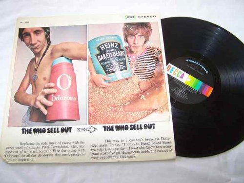 WHO LP, THE WHO SELL OUT, US ISSUE PRE-OWNED  LP [Vinyl] Unknown (Pre Owned Vinyl)