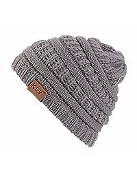 CieKen Caps &Hats Fashion Hip-hop Hat Warm Knit Crochet Slouchy Baggy Beanie Cap