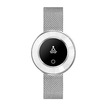 Relojes Inteligentes Para Las Mujeres, Perseguidor De Fitness, Seguimiento De La Actividad Del Monitor De Ritmo ...
