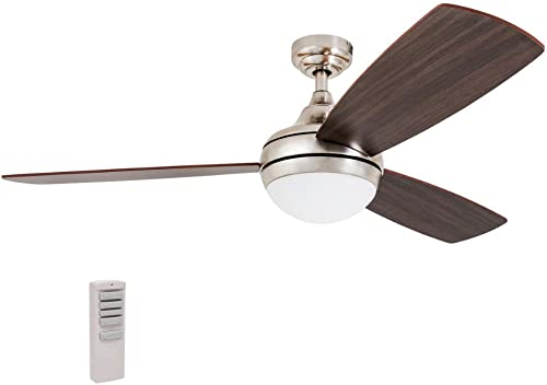 Prominence Home 80035-01 Calico Modern/Contemporary LED Ceiling Fan
