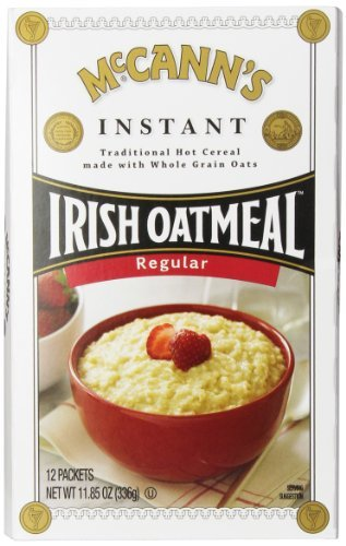 McCann's Instant Irish Oatmeal, Regular, 11.8 Ounce by McCann's