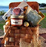 Gourmet Picnic For Two Gift Basket - Heartwarming Treasures