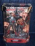 freddy vs jason figure - Movie Maniacs Special Edition Voorhees VS Krueger in Display Tank