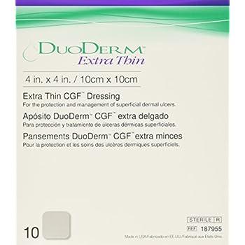 Duoderm Hydrocolloid Dressing 187955 4 X 4