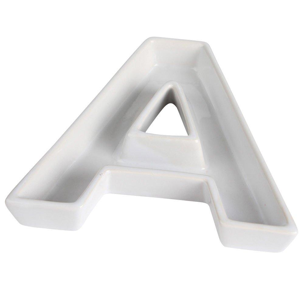 Ivy Lane Design Ceramic Greek Alphabet Dish Phi
