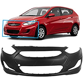 2013 Hyundai Accent Sedan >> Mbi Auto Primered Front Bumper Cover Fascia For 2012 2013 Hyundai Accent Sedan Hatchback 12 13 Hy1000188