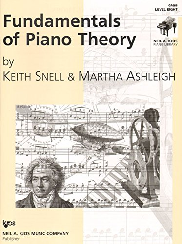 GP668 - Fundamentals of Piano Theory - Level Eight
