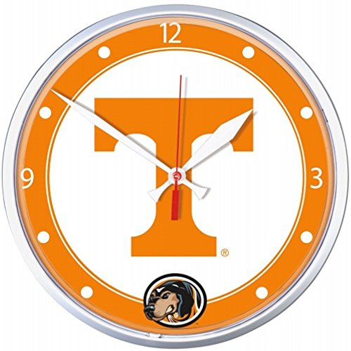 NCAA Tennessee Volunteers WinCraft Official Round Clock