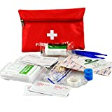 Waterproof Mini Outdoor Travel Car First Aid kit Home...