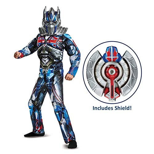 Transformers Optimus Prime Muscle Costume with Shield -