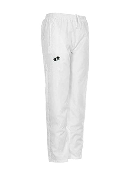 Pantalones impermeables de bolos para hombre de color blanco: Amazon.es: Ropa y accesorios