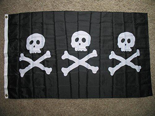 Nylon Pirate Flag - 9