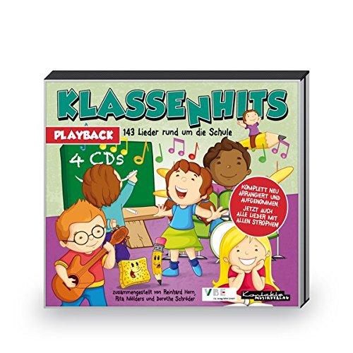 Klassenhits: 143 Lieder rund um die Schule (4-Playback-CD-Paket)