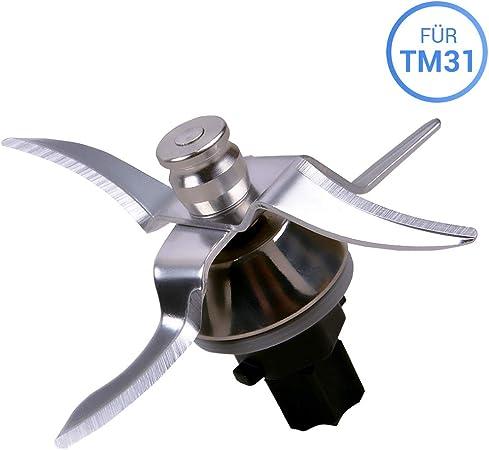 Piezas de repuesto para robot de cocina Vorwerk Thermomix TM31 Messer TM31: Amazon.es: Hogar
