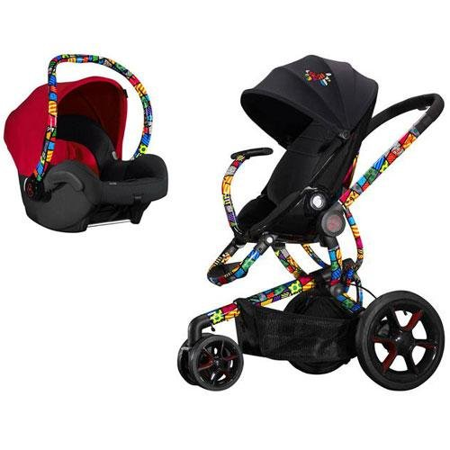 Quinny Britto Moodd Stroller Travel System With Car Seat