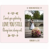 Personalized Valentine's or wedding Day Photo Frame Gift - Best Reviews Guide