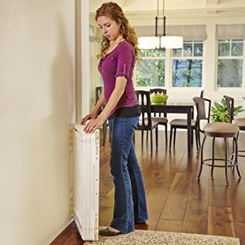 """Supergate Extra-wide Gate, Ivory, Fits Spaces Between 22"""" To 62"""" Wide & 31""""high 4"""
