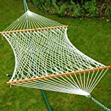 13' Deluxe Polyester Rope Hammock (Domestic) - 4970